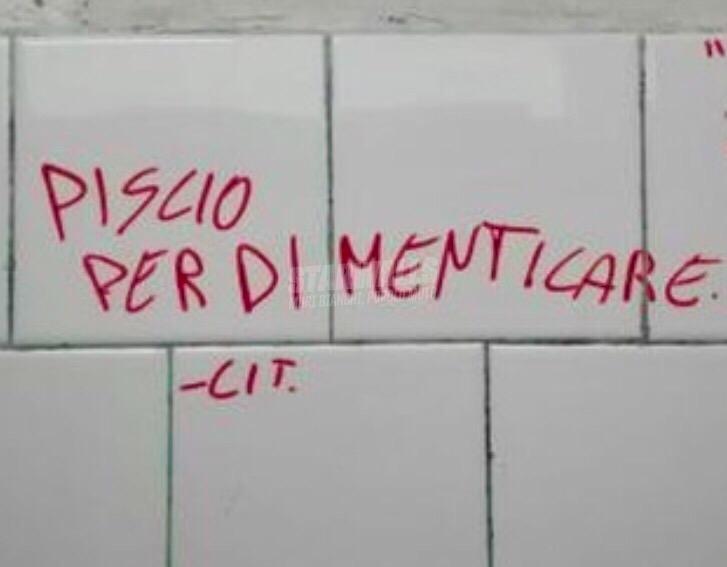 Scritte sui Muri Espelli i ricordi
