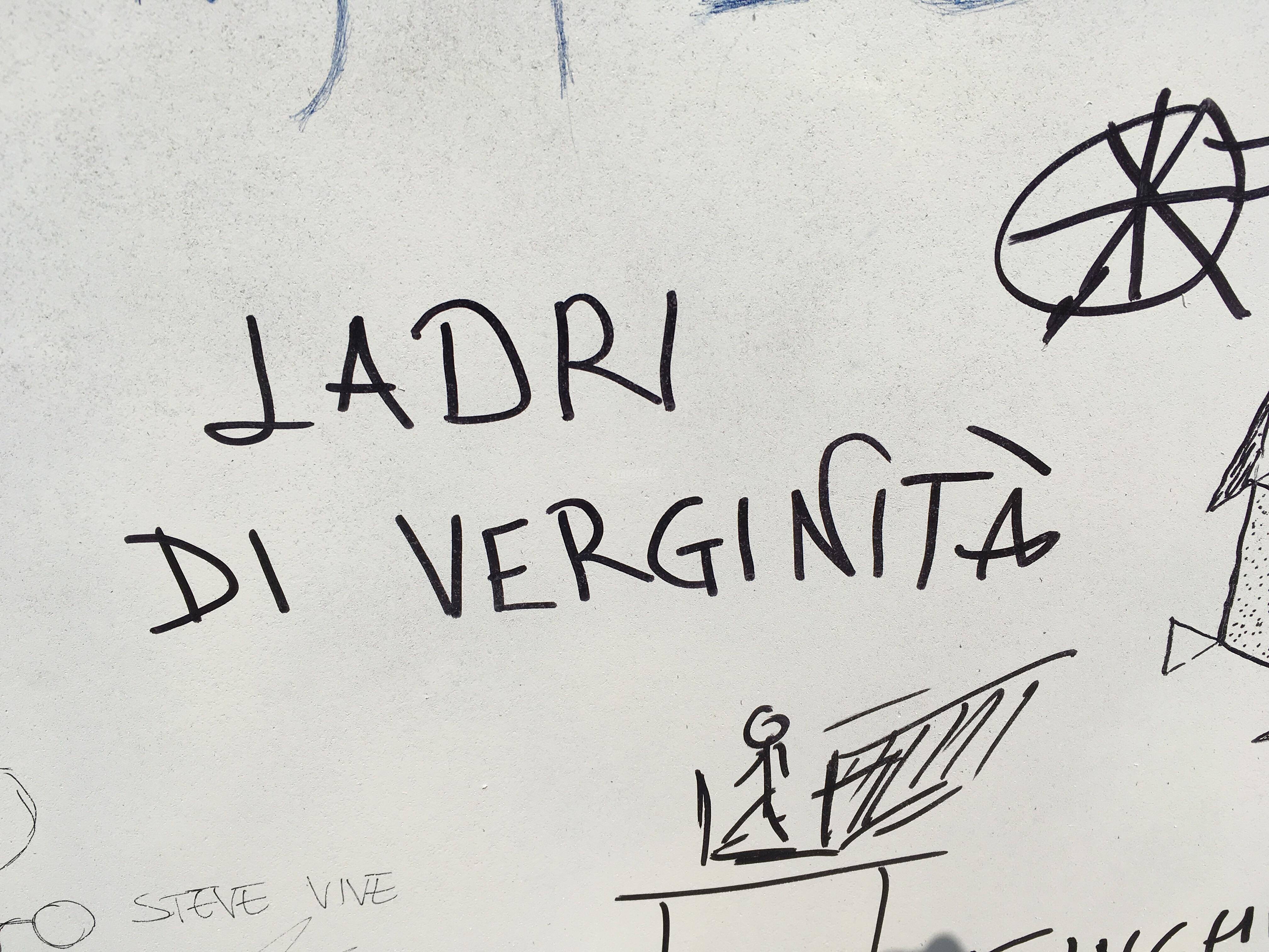 Scritte sui Muri Lu-Pen