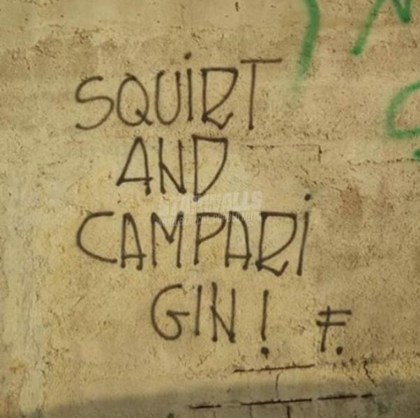 Scritte sui Muri Cocktail speziati