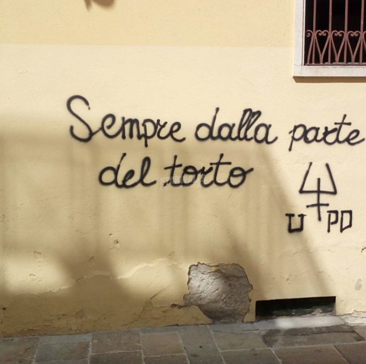 Scritte sui Muri torto o torto