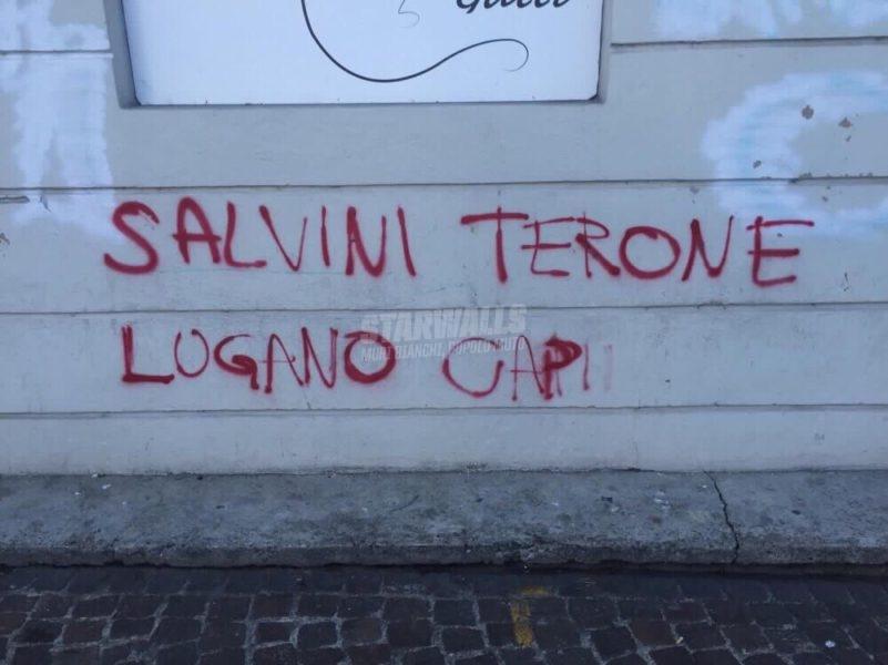 Scritte sui Muri Lugano caput mundi