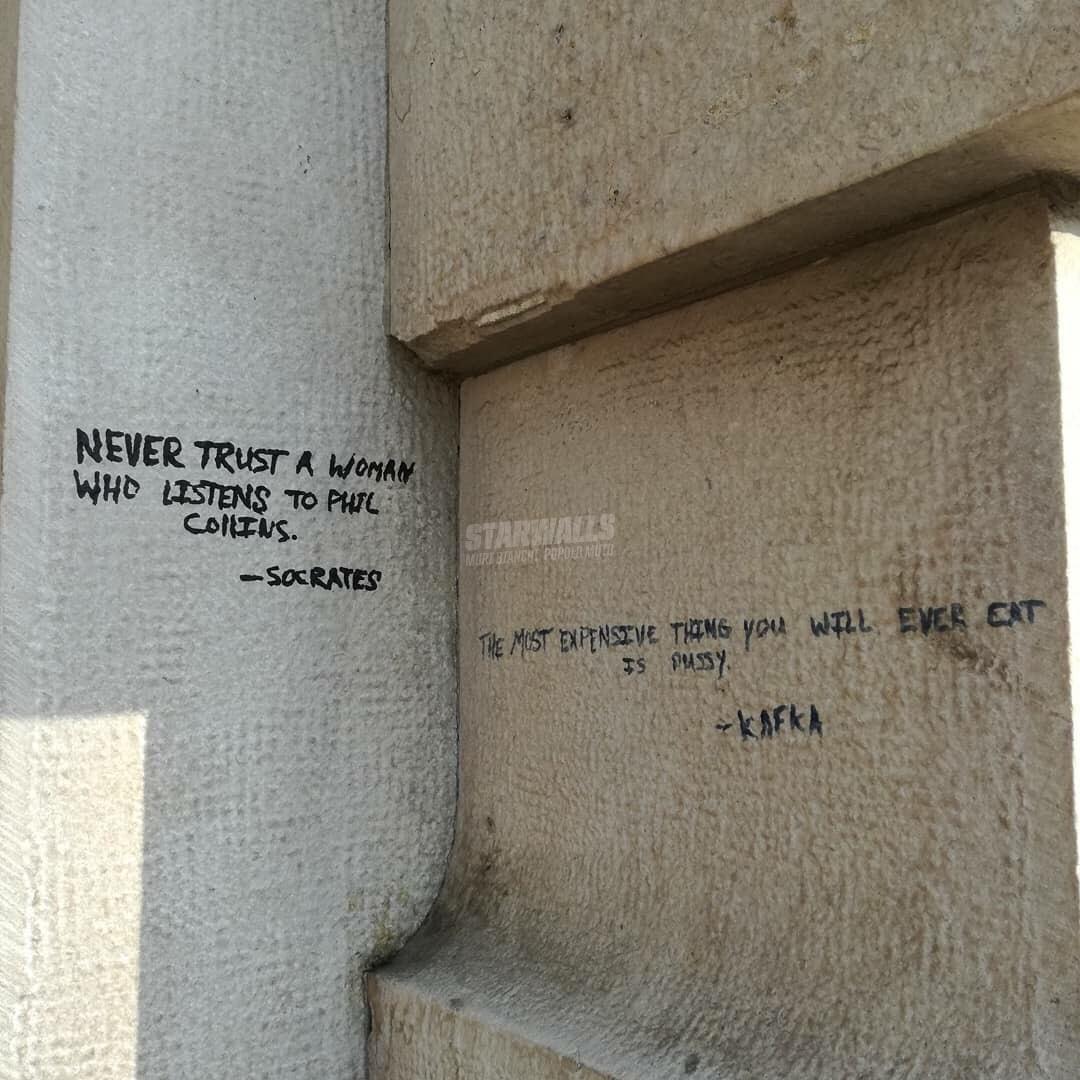 Scritte sui Muri Filosofia spiccia