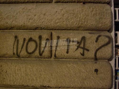 Scritte sui Muri news?