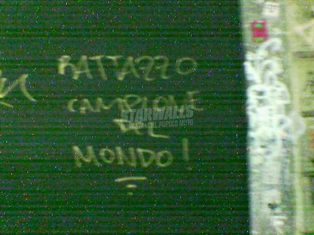 Scritte sui Muri Rattazzo vince sempre