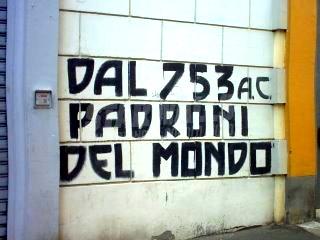 Scritte sui Muri SPQR