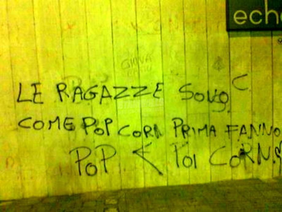Scritte sui Muri Le corna che tièni!