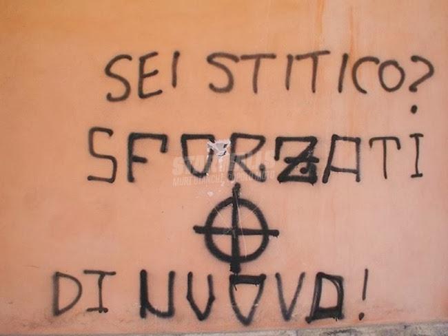 Scritte sui Muri Fave di fuca