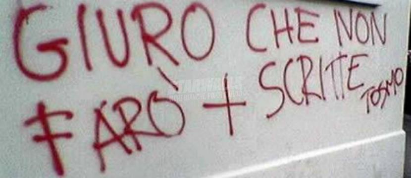 Scritte sui Muri Pinocchio