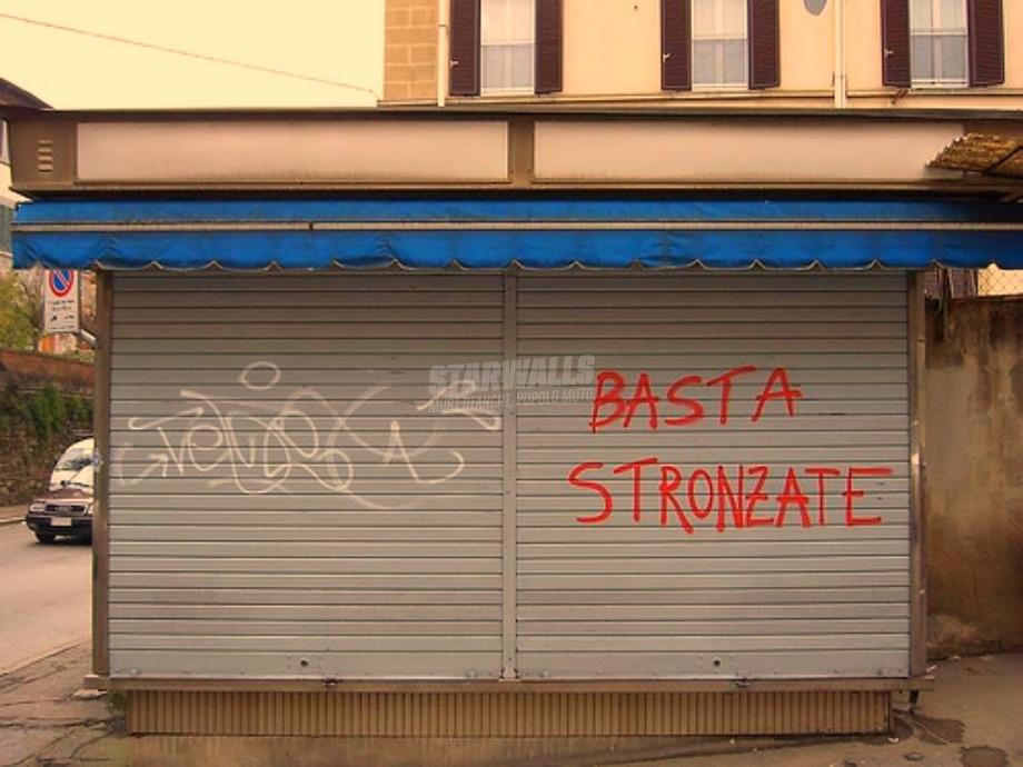 Scritte sui Muri Stop