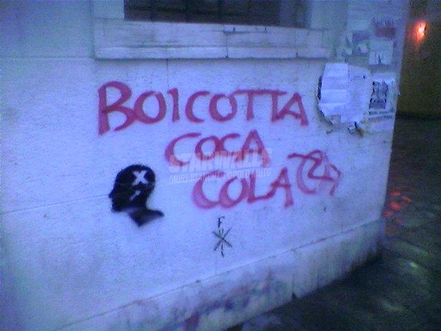 Scritte sui Muri Bevo solo kinotto