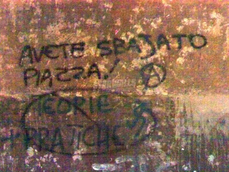Scritte sui Muri fatal error
