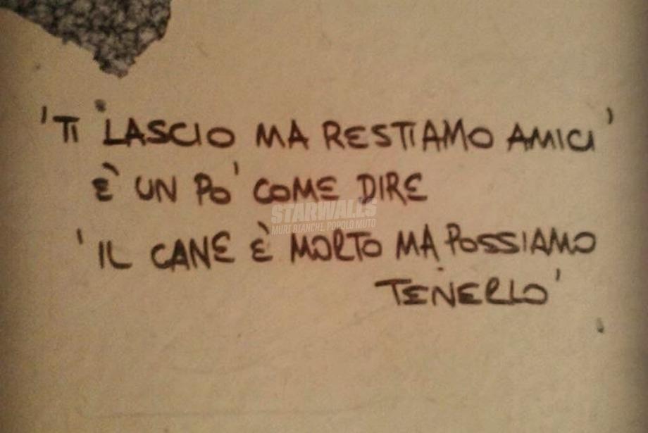Scritte sui Muri Sipario