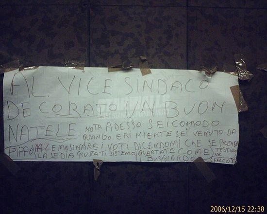 Scritte sui Muri Auguri