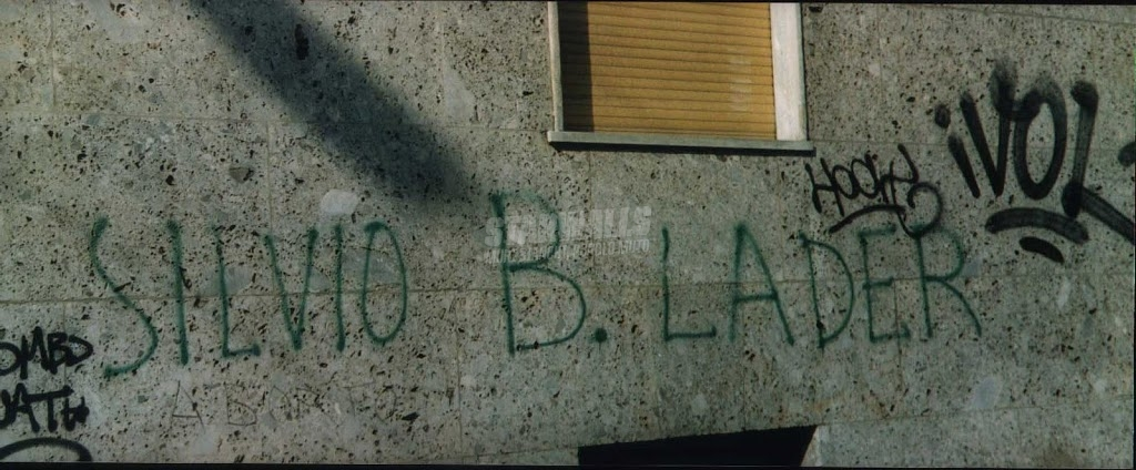 Scritte sui Muri Silvio afgano