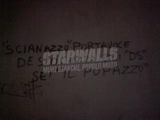 Scritte sui Muri Il pupazzo scianazzo