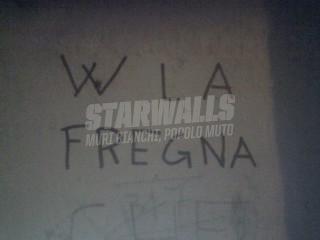 Scritte sui Muri quando manca la fantasia