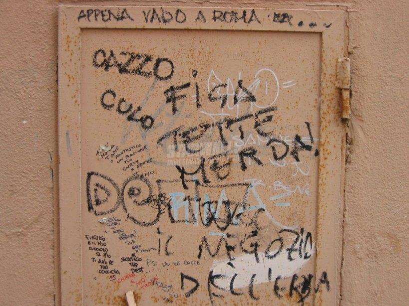 Scritte sui Muri nella capitale di tutto un pò...