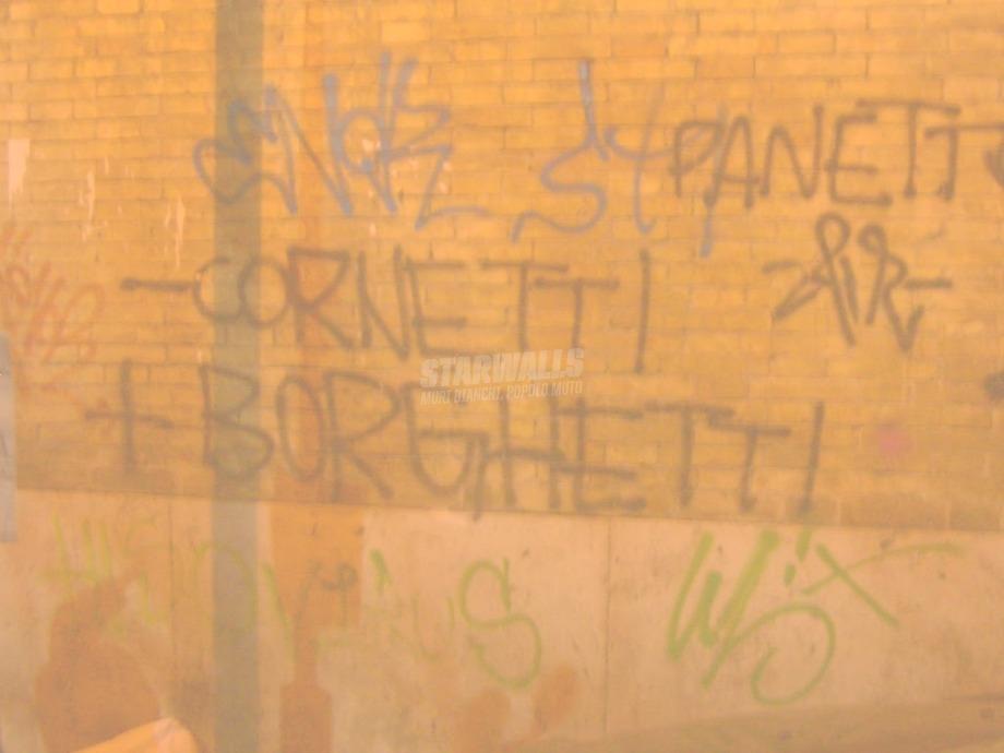 Scritte sui Muri colazione con il caffè borghetti