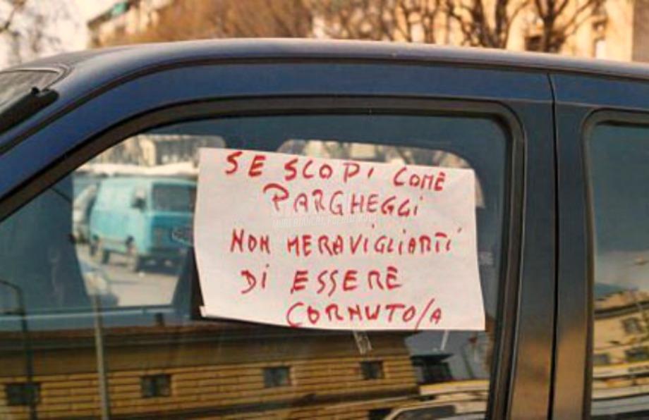Scritte sui Muri Italian driver 2