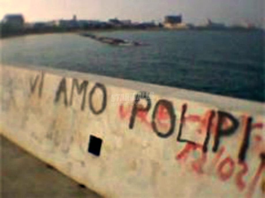 Scritte sui Muri Un polipo è per sempre