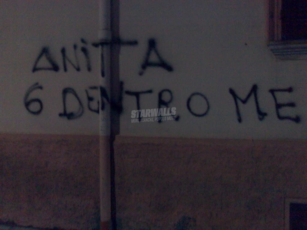 Scritte sui Muri Pensiero garibaldino