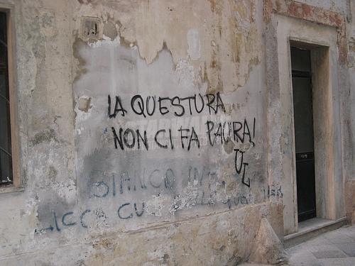 Scritte sui Muri Pronti a tutto