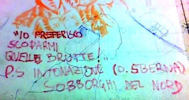 Scritte sui Muri I gusti non si discutono