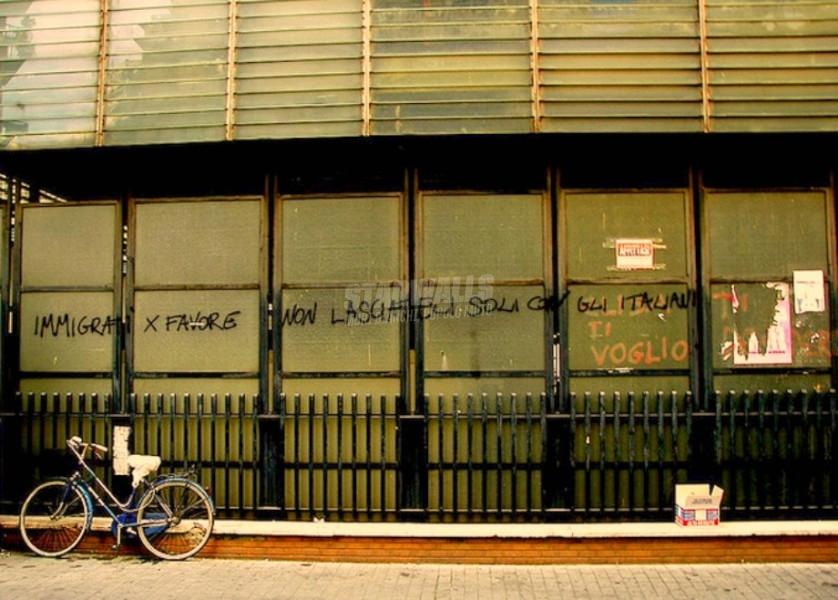 Scritte sui Muri Solidarietà