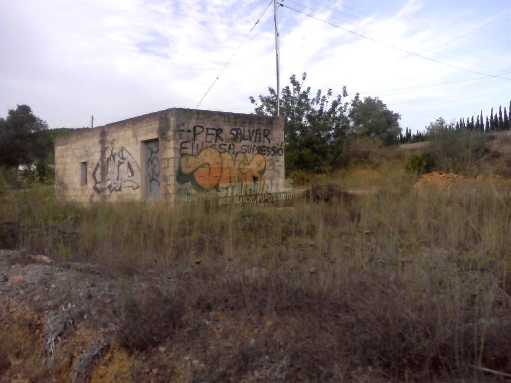 Scritte sui Muri soppressione per la libertà