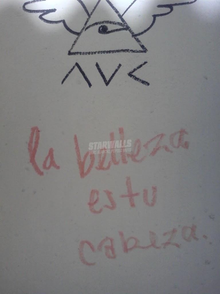 Scritte sui Muri bella...con la testa