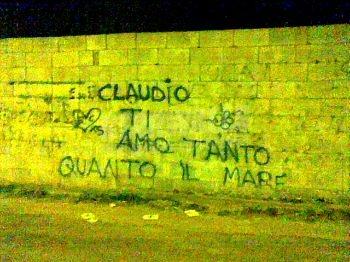 Scritte sui Muri Vero amore