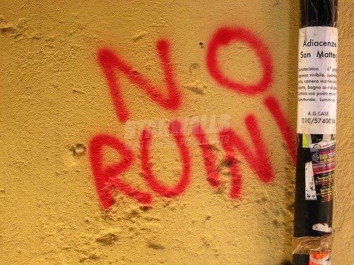 Scritte sui Muri No Ruini Sì Party