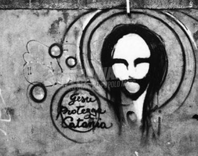Scritte sui Muri Gesù pensaci tu