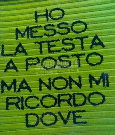 Scritte sui Muri Where is?