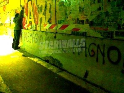 Scritte sui Muri Non sei il mio sindaco