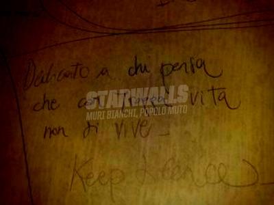 Scritte sui Muri chi più ne ha, più ne metta