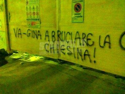 Scritte sui Muri La missione di.. Gina