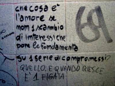 Scritte sui Muri interessi&compromessi