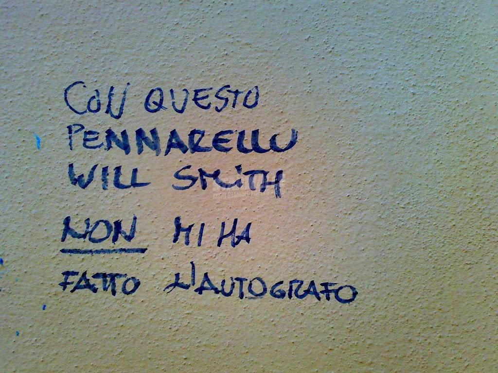 Scritte sui Muri Il gran rifiuto