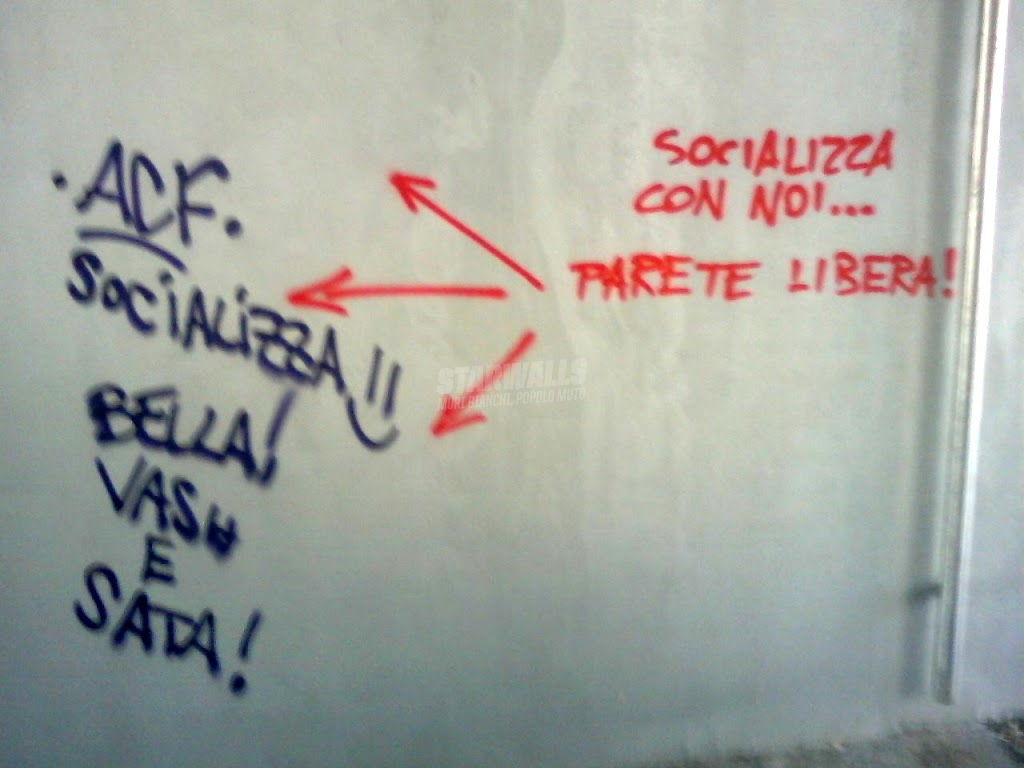 Scritte sui Muri amici di muro