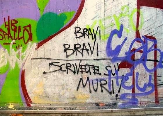 Scritte sui Muri Complimenti
