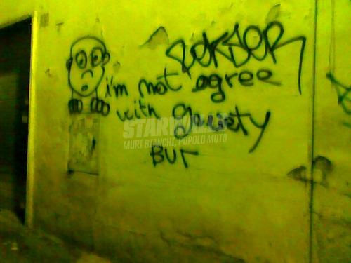 Scritte sui Muri Dissenso