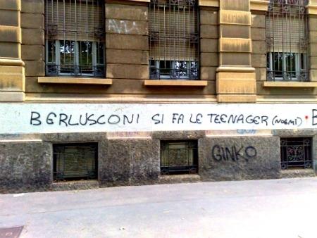 Scritte sui Muri Noemi for president