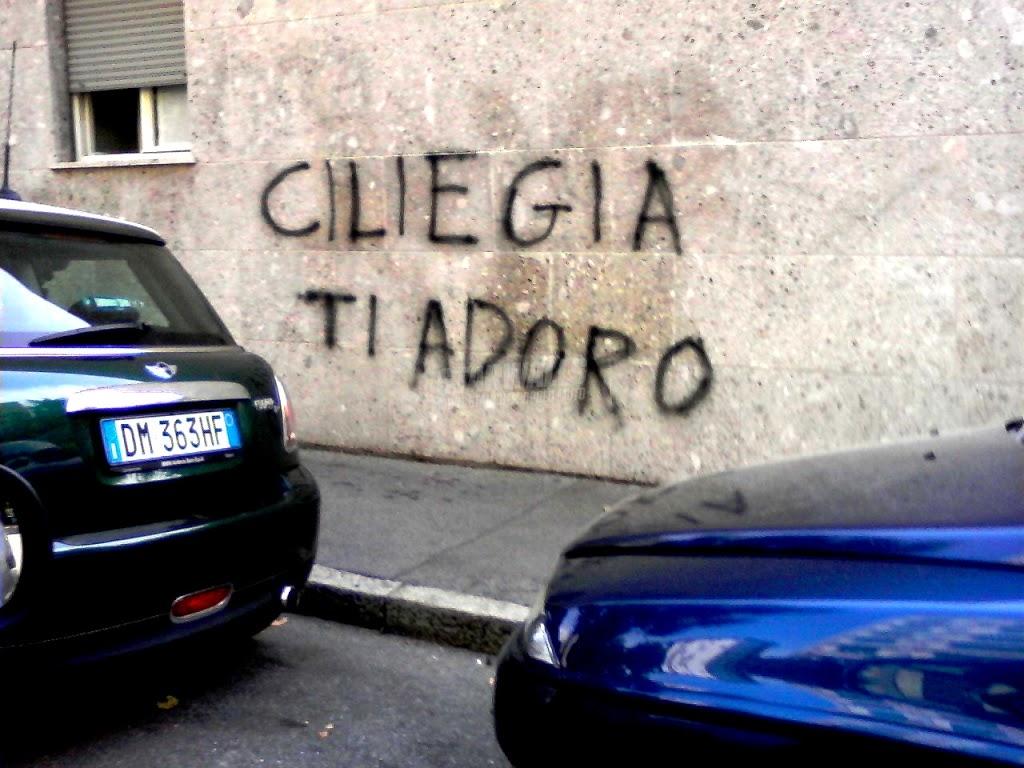 Scritte sui Muri Amore fruttato
