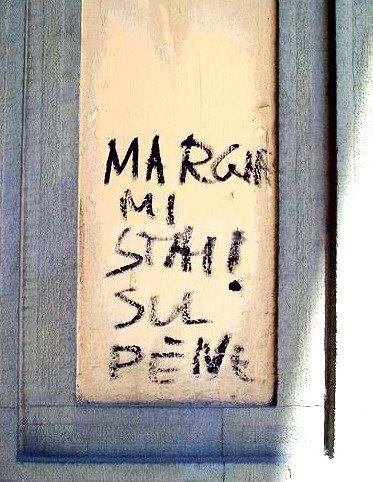 Scritte sui Muri avversione