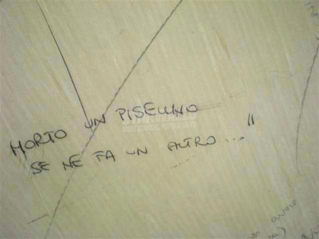 Scritte sui Muri Avanti il prossimo ..