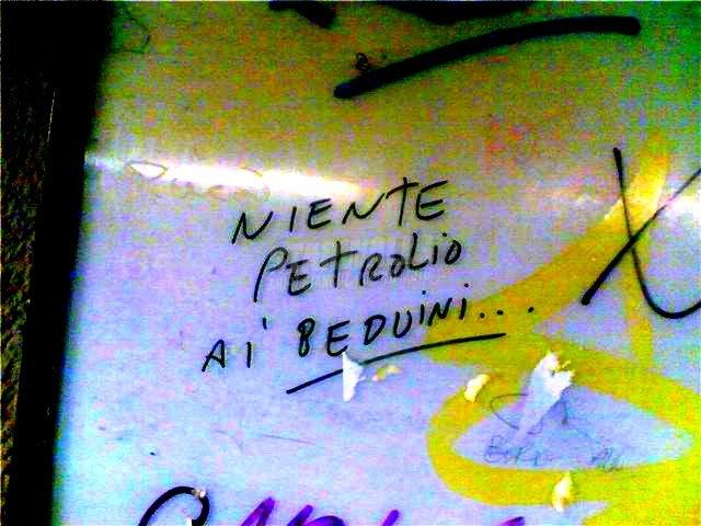 Scritte sui Muri A loro no. Perchè no?