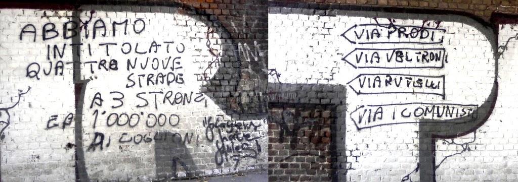Scritte sui Muri Politica e par condicio