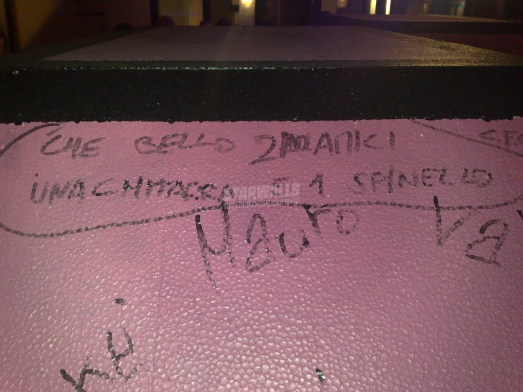 Scritte sui Muri alla Elio