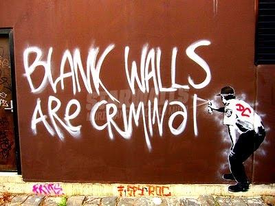 Scritte sui Muri parola alla creatività